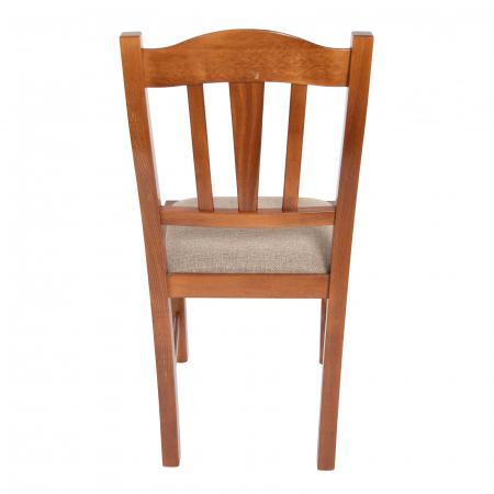 Scaun din lemn Silvana tapitat nuc [3]