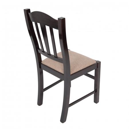 Scaun din lemn Silvana tapitat wenge [2]