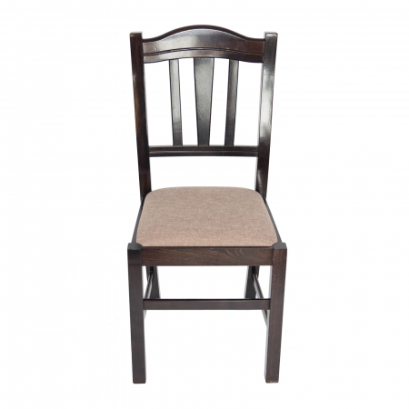 Scaun din lemn Silvana tapitat wenge [6]