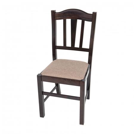 Scaun din lemn Silvana tapitat wenge [4]