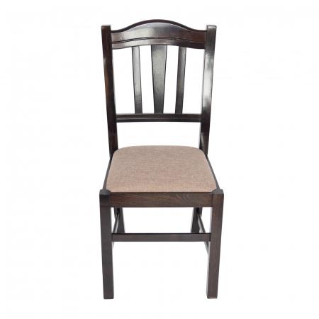 Scaun din lemn Silvana tapitat wenge [5]