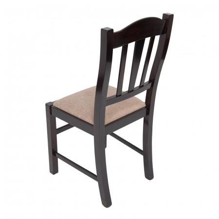 Scaun din lemn Silvana tapitat wenge [3]