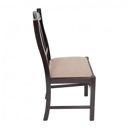 Scaun din lemn Silvana tapitat wenge [1]