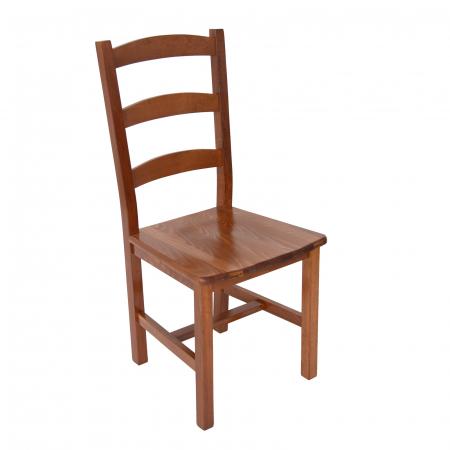 Scaun din lemn Sonya Modern masiv nuc [0]