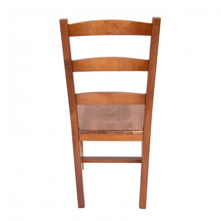 Scaun din lemn Sonya Modern masiv nuc [2]