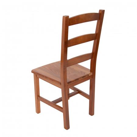 Scaun din lemn Sonya Modern masiv nuc [3]