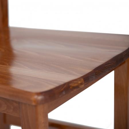 Scaun din lemn Sonya Modern masiv nuc [5]
