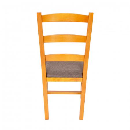 Scaun din lemn Sonya Modern tapitat cires [3]