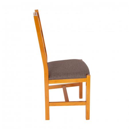 Scaun din lemn Sonya Modern tapitat cires [1]