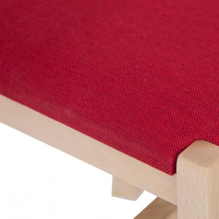 Scaun din lemn Sonya Modern tapitat natur [5]
