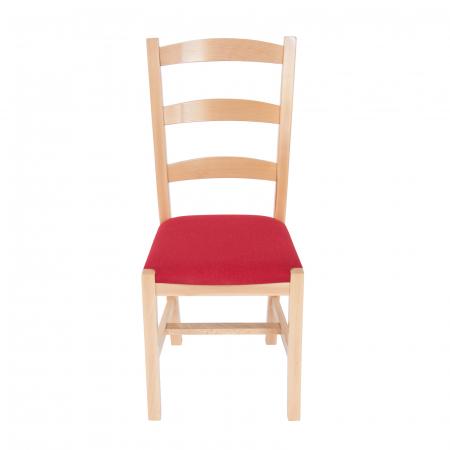 Scaun din lemn Sonya Modern tapitat natur [4]