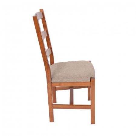 Scaun din lemn Sonya Modern tapitat nuc [1]