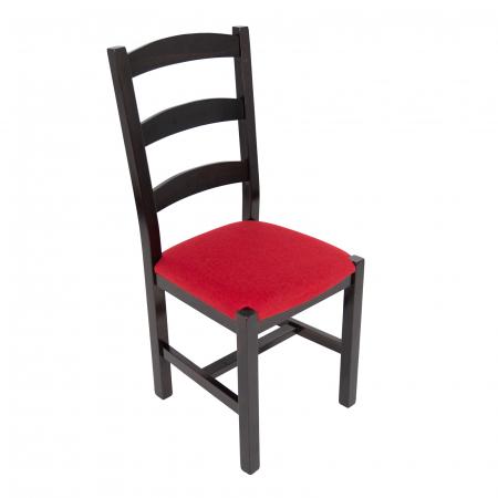 Scaun din lemn Sonya Modern tapitat wenge [0]