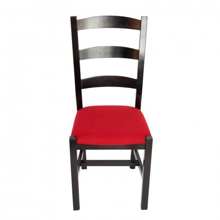 Scaun din lemn Sonya Modern tapitat wenge [4]