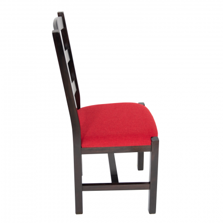 Scaun din lemn Sonya Modern tapitat wenge [1]
