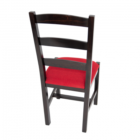 Scaun din lemn Sonya Modern tapitat wenge [2]