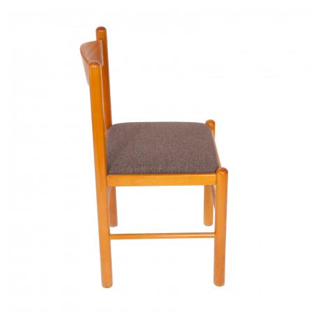 Scaun din lemn Toronto tapitat cires [1]