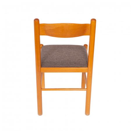 Scaun din lemn Toronto tapitat cires [3]