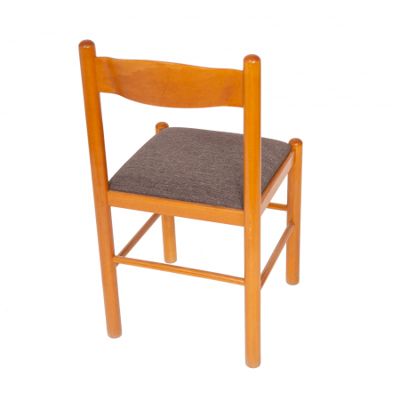 Scaun din lemn Toronto tapitat cires [2]