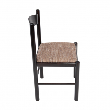Scaun din lemn Toronto tapitat wenge [1]