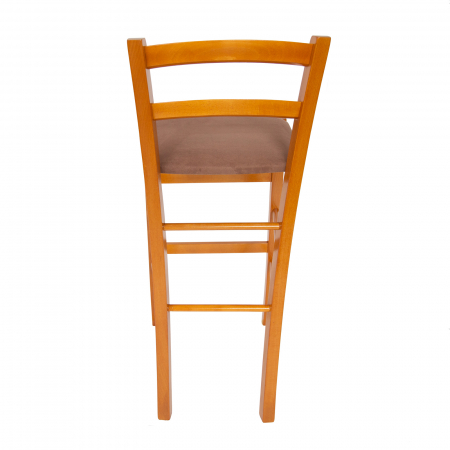 Scaun din lemn Venetia bar tapitat cires [3]