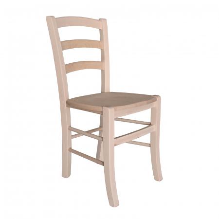Scaun din lemn Venetia masiv crud [0]