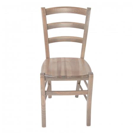Scaun din lemn Venetia masiv maro-trufa [7]