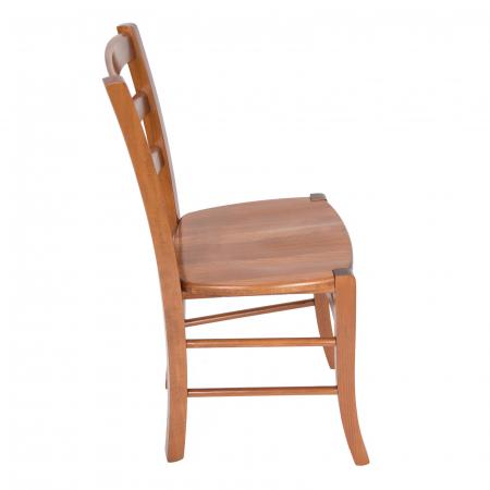 Scaun din lemn Venetia masiv nuc [1]