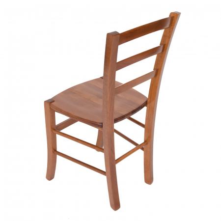 Scaun din lemn Venetia masiv nuc [3]
