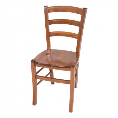 Scaun din lemn Venetia masiv nuc [4]