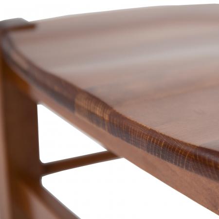 Scaun din lemn Venetia masiv nuc [6]