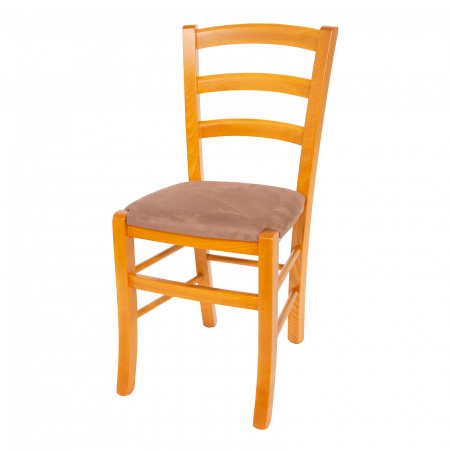 Scaun din lemn Venetia tapitat cires [5]