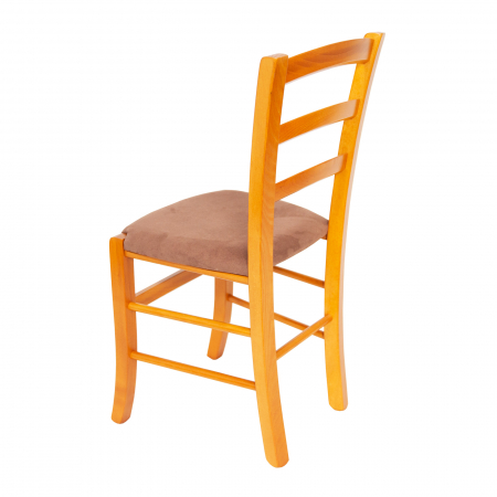 Scaun din lemn Venetia tapitat cires [3]