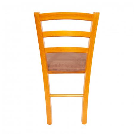 Scaun din lemn Venetia tapitat cires [2]