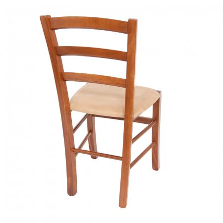 Scaun din lemn Venetia tapitat nuc [2]