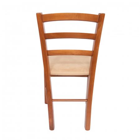 Scaun din lemn Venetia tapitat nuc [3]