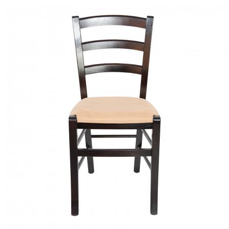 Scaun din lemn Venetia tapitat wenge [5]