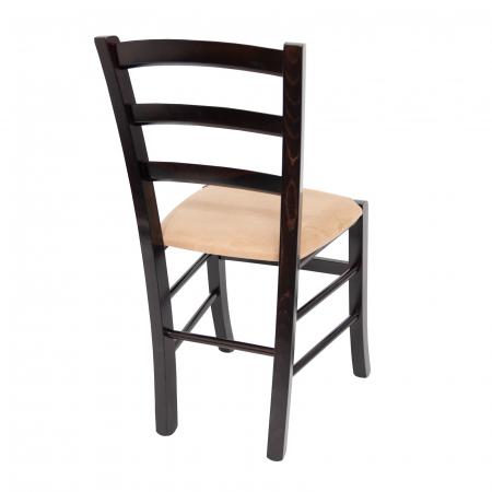 Scaun din lemn Venetia tapitat wenge [2]