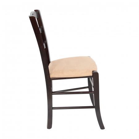 Scaun din lemn Venetia tapitat wenge [1]