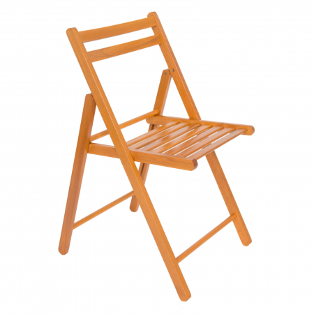 Scaun pliant din lemn IGOR cires [0]