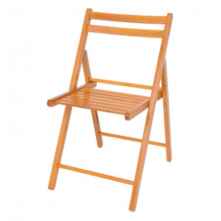 Scaun pliant din lemn IGOR cires [6]
