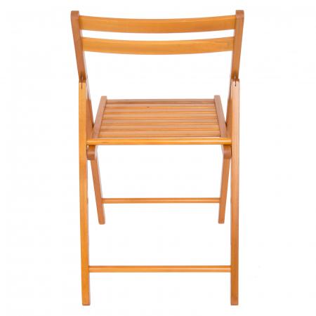 Scaun pliant din lemn IGOR cires [3]