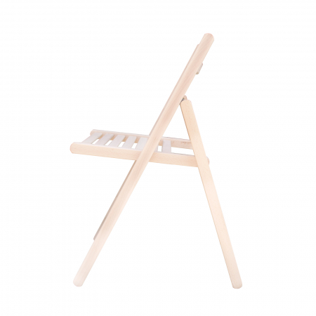 Scaun pliant din lemn IGOR crud [2]