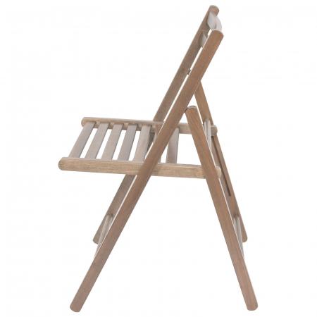 Scaun pliant din lemn IGOR maro-trufa [5]