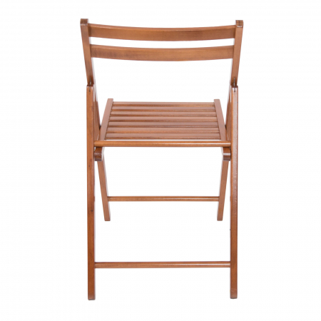 Scaun pliant din lemn IGOR nuc [4]