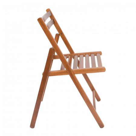 Scaun pliant din lemn IGOR nuc [2]
