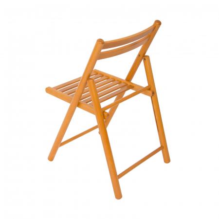 Scaun pliant din lemn IGOR R cires [3]