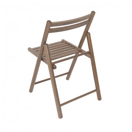 Scaun pliant din lemn IGOR R maro-trufa [3]