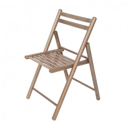 Scaun pliant din lemn IGOR R maro-trufa [4]