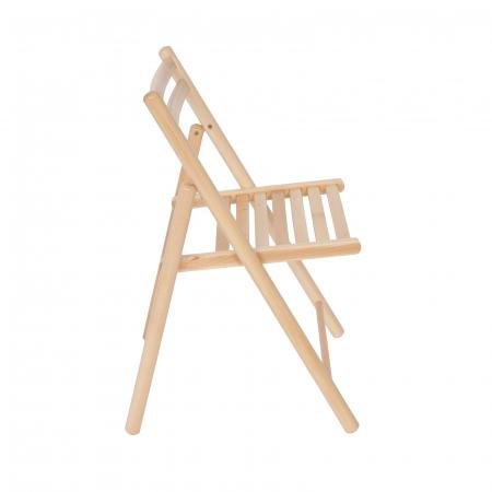 Scaun pliant din lemn IGOR R natur [1]